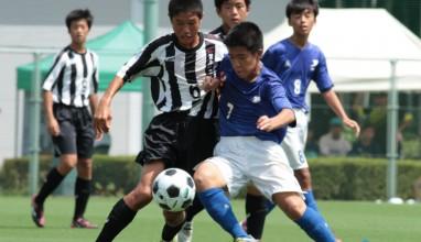 暁星国際中、鹿島中らが関東ベスト8進出・・・第47回関東中学校サッカー大会1回戦結果