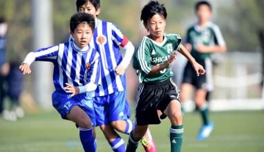 足柄FC vs HIP SC・・・サッカー全少神奈川県予選