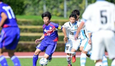 V甲府 vs 川崎F・・・高円宮杯U-15サッカー関東大会【写真特集】