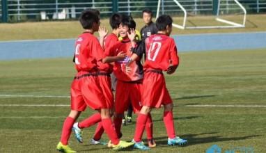 新井、高嶋、布施の3発で大豆戸が準決勝へ 高円宮杯U-15サッカー関東大会