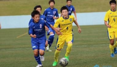 前橋JYが準決勝へ! 高円宮杯U-15サッカー関東大会