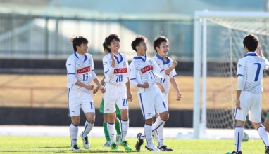 奥津・中村のゴールで湘南が東京V下し高円宮杯4強へ!
