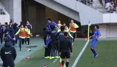 杉山の決勝Gで市船が京都橘との注目対決制す|高校サッカー選手権