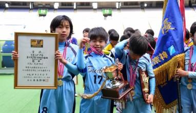 バディーがSFAT敗り低学年の部頂点に|神奈川県少年サッカー選手権大会低学年の部