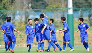 前橋FCが開幕3連勝で首位に!|関東ユース(U-15)サッカーリーグ2部
