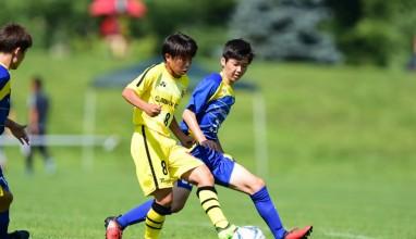 【Pick up】[クラブユースU15準々決勝]柏が武蔵野シティ敗り4強入り決める