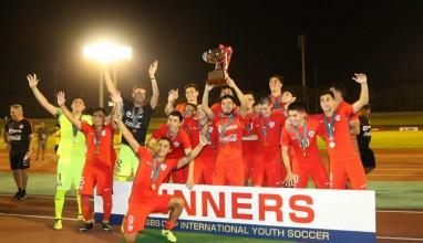 U-18チリ代表が全勝で栄冠に|2017 SBSカップ国際ユースサッカー
