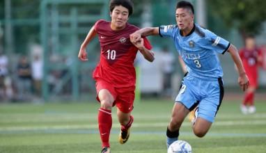 前橋育英が2位浮上。三菱養和SCは中村のゴールなどで首位川崎敗る|2017プリンスリーグ関東 #12