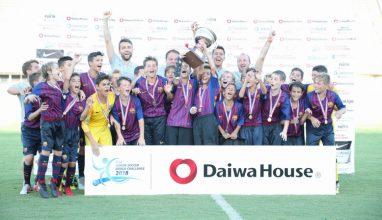 FCバルセロナが大会3連覇!準優勝はアーセナルFC|U-12ジュニアサッカーワールドチャレンジ