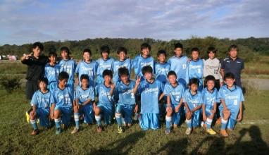 ◆トップリーグ優勝はベルマーレ平塚!FC厚木MELLIZOらが1部リーグ昇格!◆ 2013年度 神奈川県(U-13)サッカーリーグ1stステージ結果