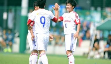 昨年日本一のマリノスが全国大会への出場権獲得・・・第40回日本クラブユースサッカー選手権U-18関東大会2回戦