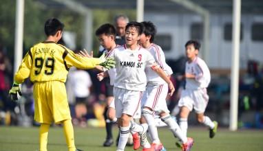 鴨居SC vs SSC・・・サッカー全少神奈川県予選
